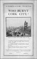 Who Burnt Cork City Cover