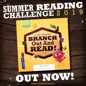 logo for summer reading challenge