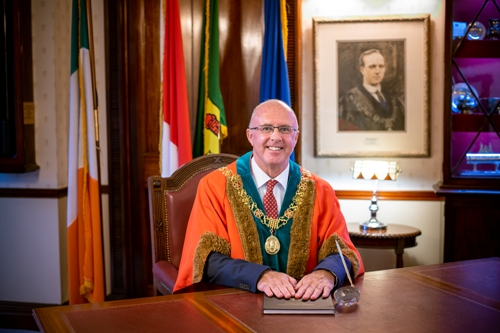 Cllr. Joe Kavanagh, Lord Mayor